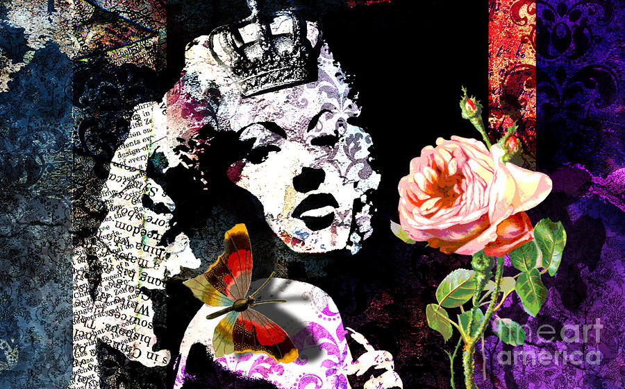 Queen Digital Art  - Queen Fine Art Print
