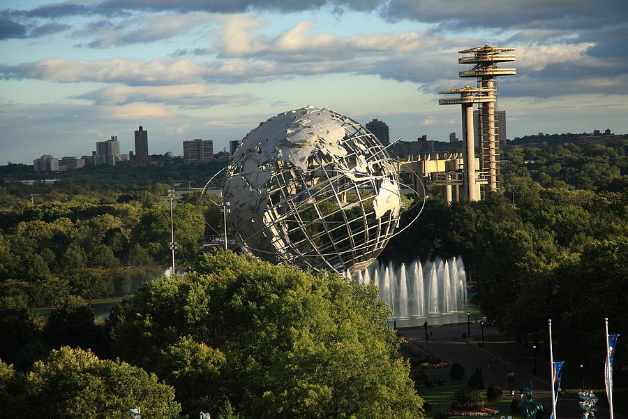 Queens New York City - Unisphere Photograph