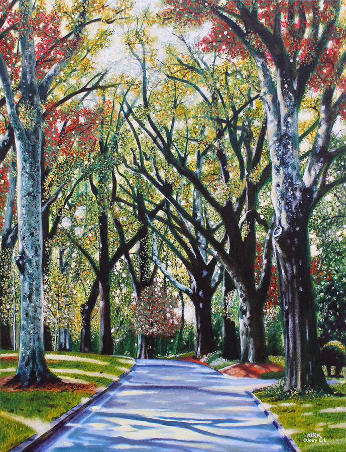 Queens Road West Painting  - Queens Road West Fine Art Print