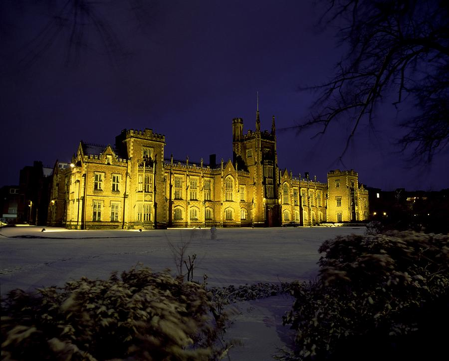 Queens University, Belfast, Ireland Photograph  - Queens University, Belfast, Ireland Fine Art Print