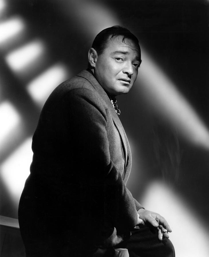 Quicksand, Peter Lorre, 1950 Photograph