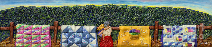 Quilted Harvest Mixed Media