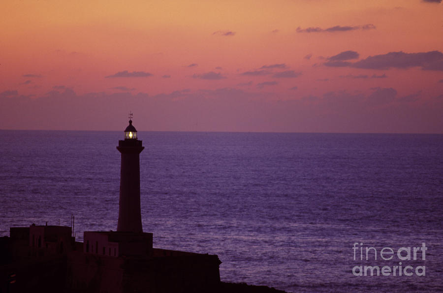 Rabat Morocco Lighthouse Photograph  - Rabat Morocco Lighthouse Fine Art Print