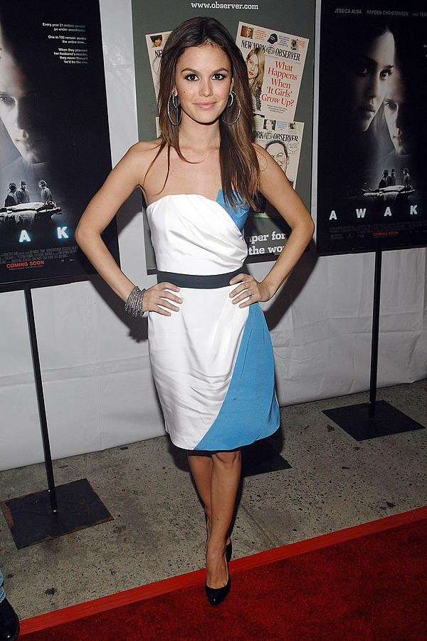 Rachel Bilson Wearing An Abaete Dress Photograph  - Rachel Bilson Wearing An Abaete Dress Fine Art Print