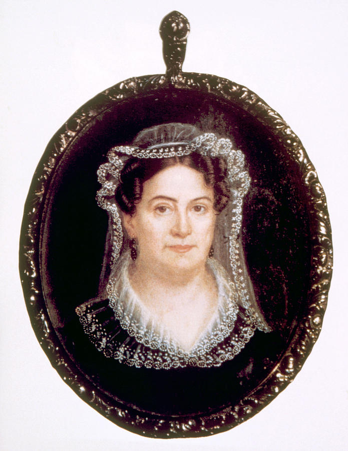 History Photograph - Rachel Jackson 1767-1828, Wife by Everett