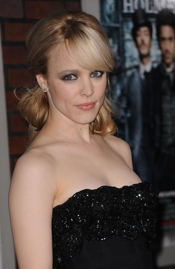 Rachel Mcadams At Arrivals For Sherlock Photograph  - Rachel Mcadams At Arrivals For Sherlock Fine Art Print