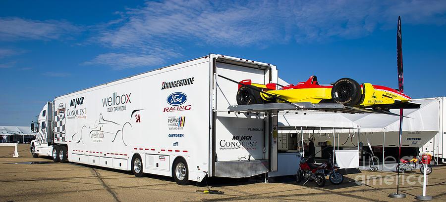 Racing Car Lift Photograph