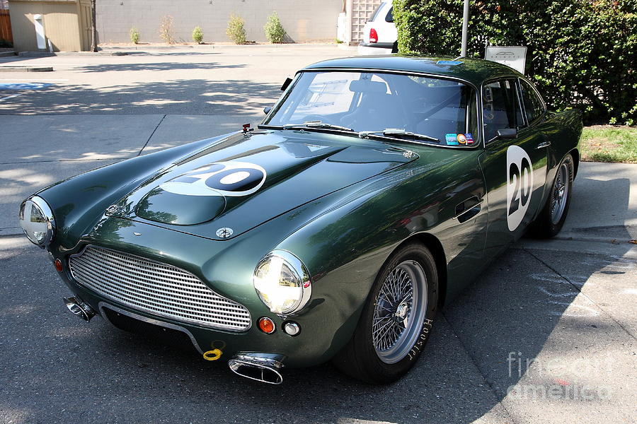 Racing Green Aston Martin . 40d9377 Photograph  - Racing Green Aston Martin . 40d9377 Fine Art Print