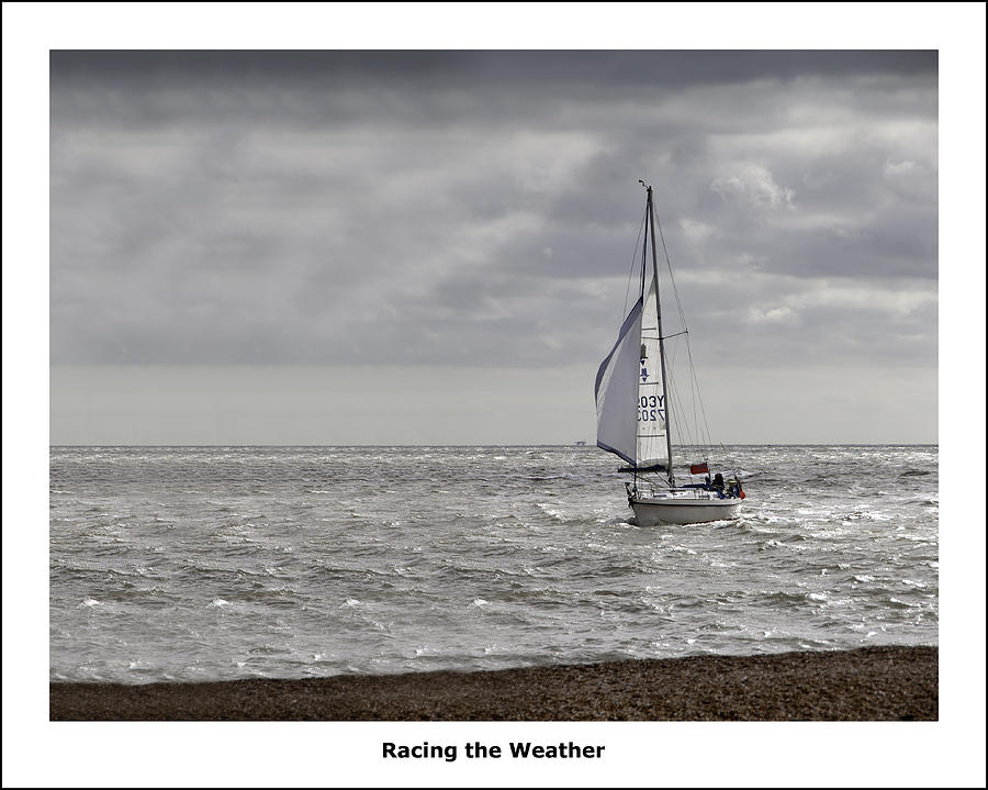 Racing The Weather Photograph