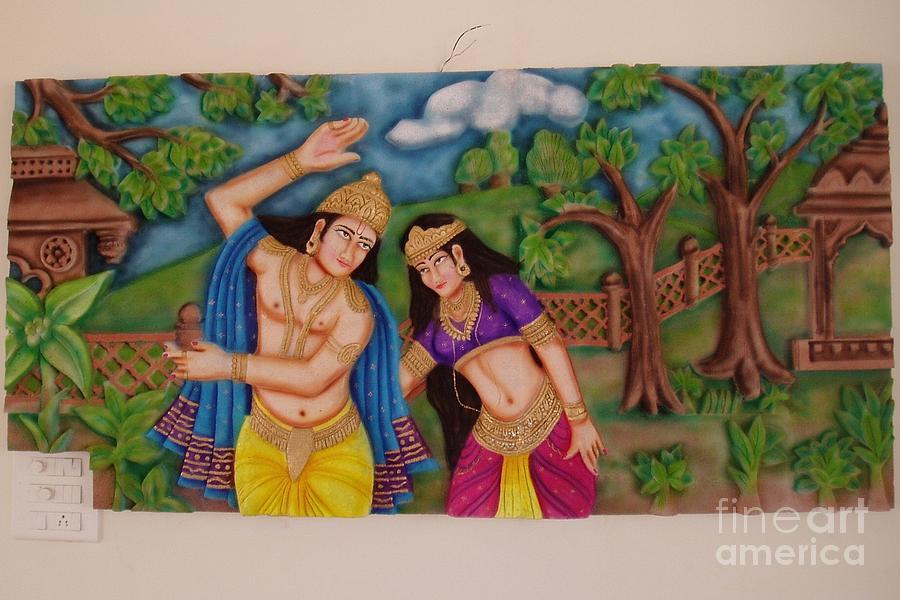 murals original art personalized wall decor posters wall wall murals radha krishna pixersize com