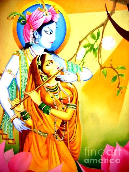 Radha Krishna by Rupesh Kolvankar