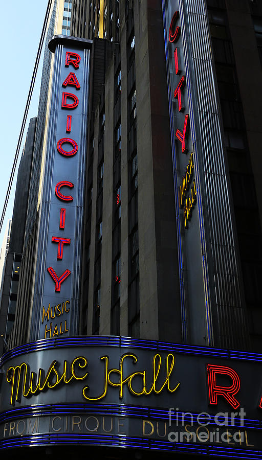 Radio City Music Hall Cirque Du Soleil Photograph  - Radio City Music Hall Cirque Du Soleil Fine Art Print