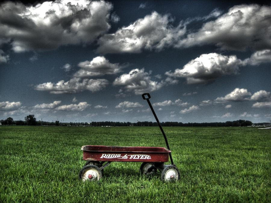Radio Flyer Photograph  - Radio Flyer Fine Art Print