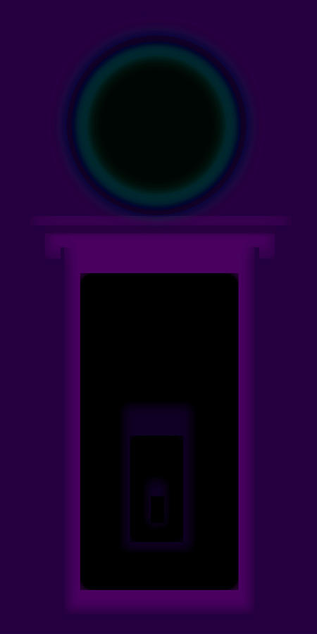 Radio Purple Palladio Painting