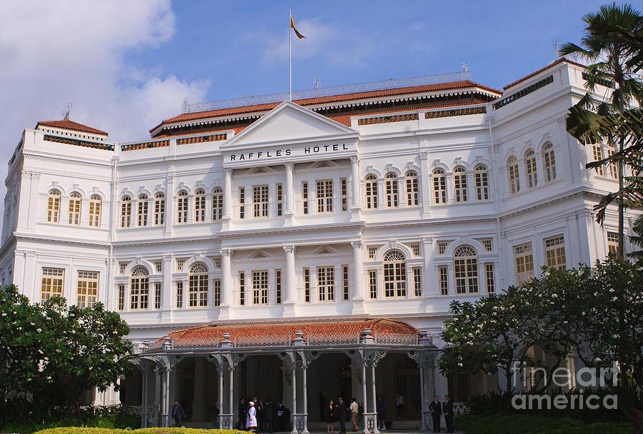 Raffles Hotel - Singapore Photograph