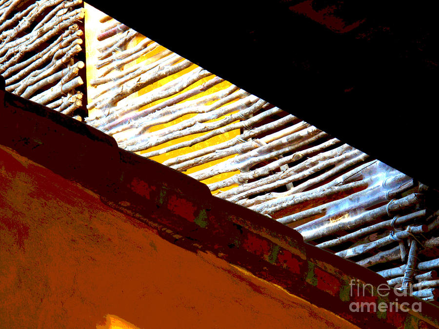 Rafters By Darian Day Photograph  - Rafters By Darian Day Fine Art Print
