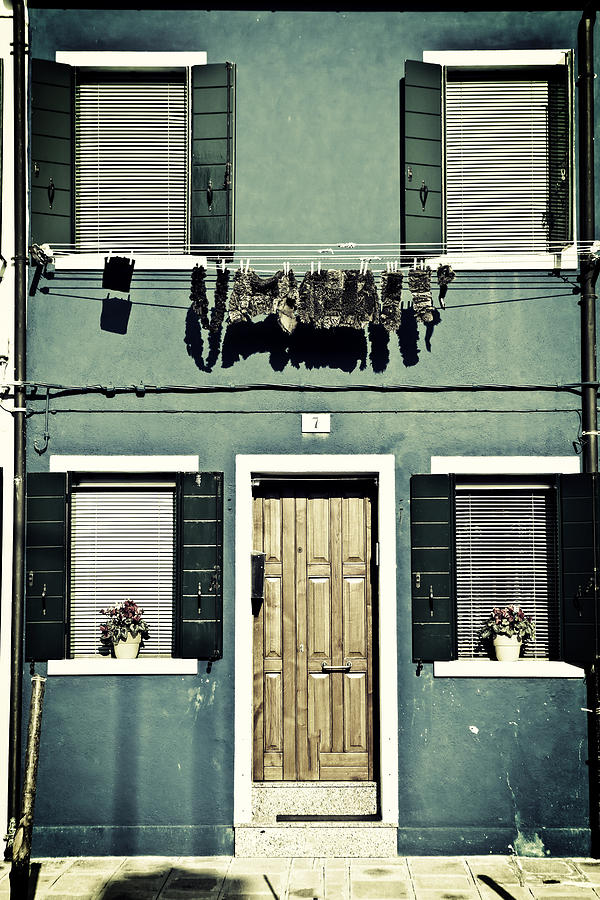 rags in Venice Photograph