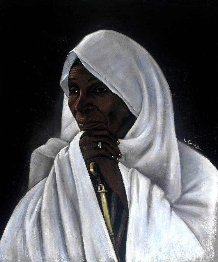 L Cooper Pastel - Rahab by L Cooper