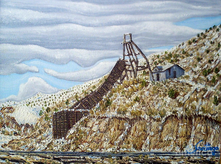 Rail Chute Painting