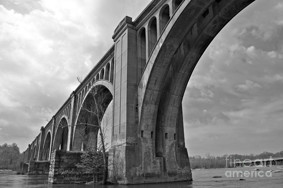 Railroad Bridge Richmond Va Photograph  - Railroad Bridge Richmond Va Fine Art Print