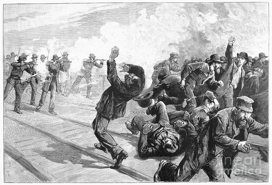 a history of the great railroad strike in america Chinese workmen on the western pacific railroad reportedly have gone on strike  railroad projects including the great  railroad photographic history.