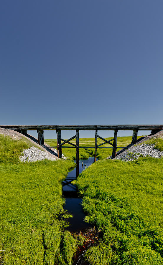 Railroad Trestle Photograph