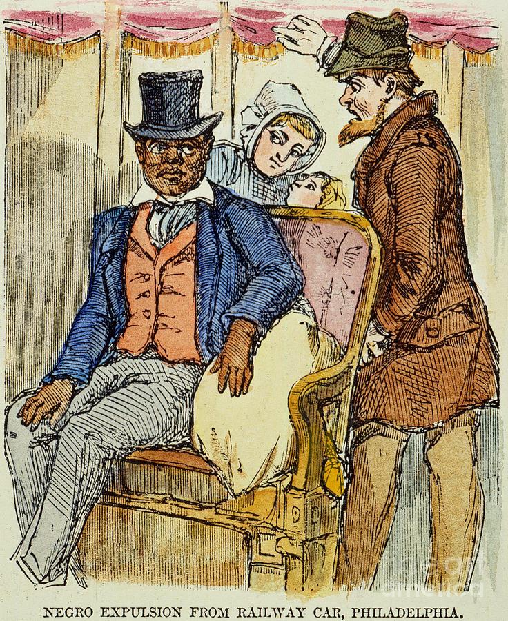 Railway Segregation, 1856 Photograph