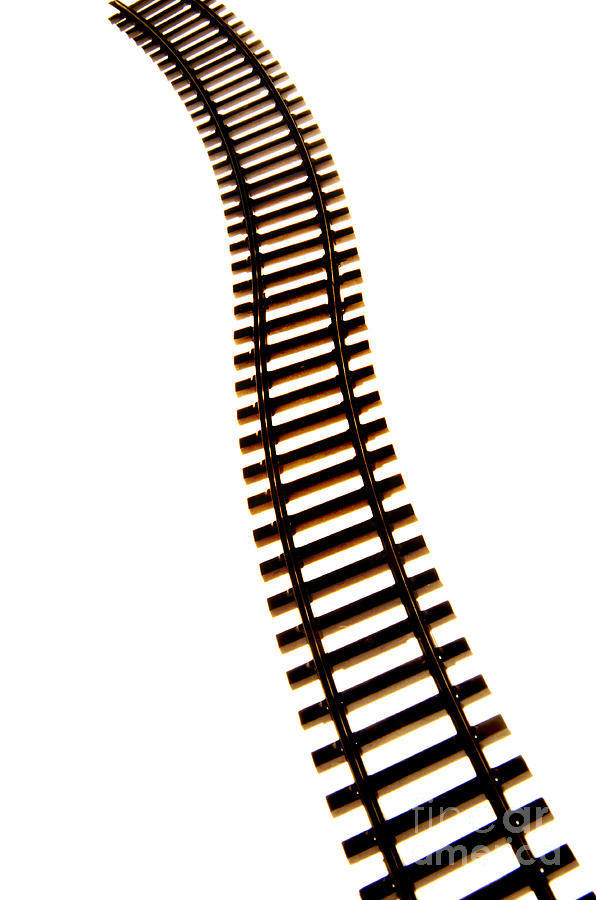 Railway Tracks Photograph  - Railway Tracks Fine Art Print