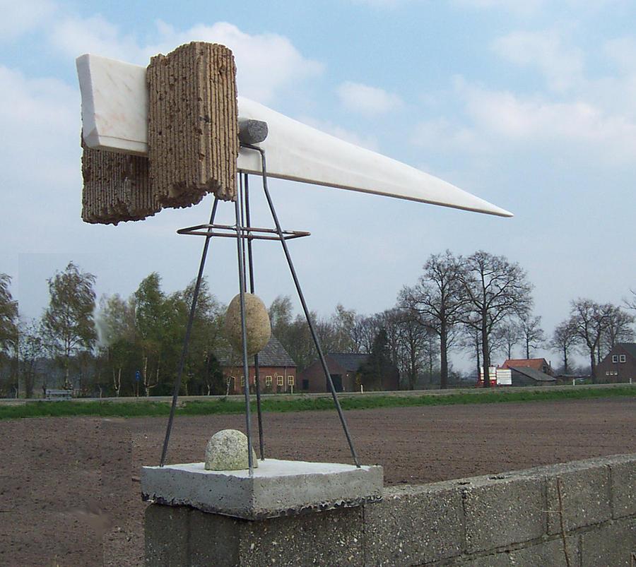 Rain Balance Sculpture