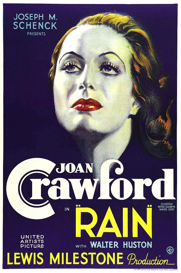 Rain, Joan Crawford, 1932 Photograph  - Rain, Joan Crawford, 1932 Fine Art Print