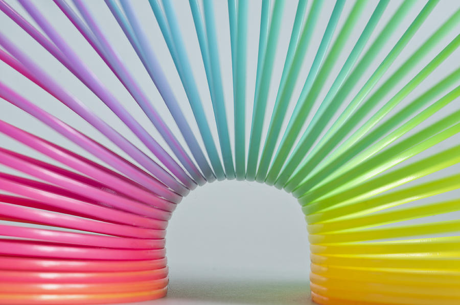 Rainbow Spring Photograph - Rainbow 2 by Steve Purnell