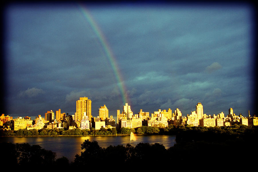 Rainbow In The City Photograph  - Rainbow In The City Fine Art Print