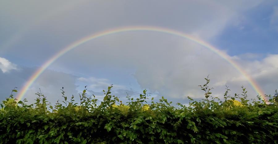 Rainbow In Warwick Photograph
