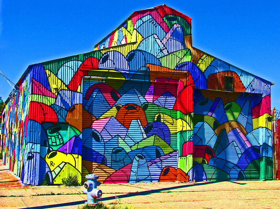 Rainbow Jug Building Photograph