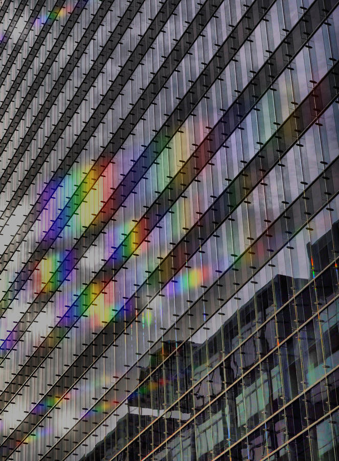 Rainbow Windows Photograph