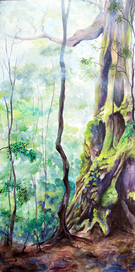 Rainforest Mist Painting