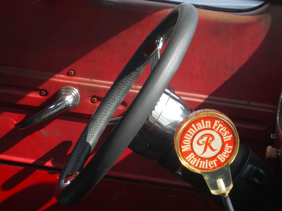 Rainier Stick Shift  Photograph  - Rainier Stick Shift  Fine Art Print