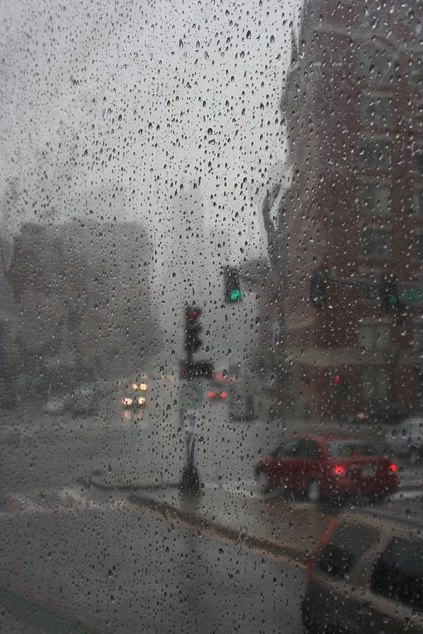 Rainy Days In Boston Photograph  - Rainy Days In Boston Fine Art Print
