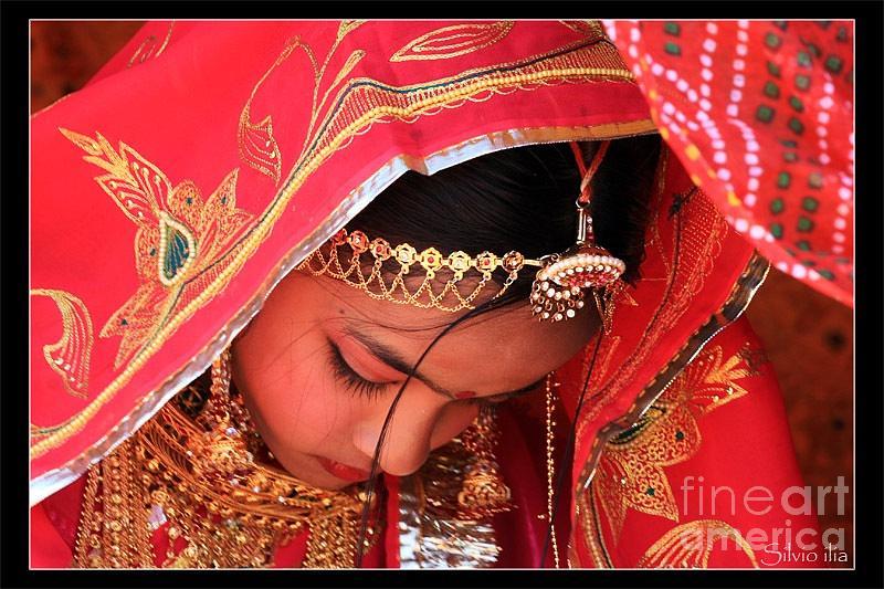 Rajasthani Dulhan Photograph