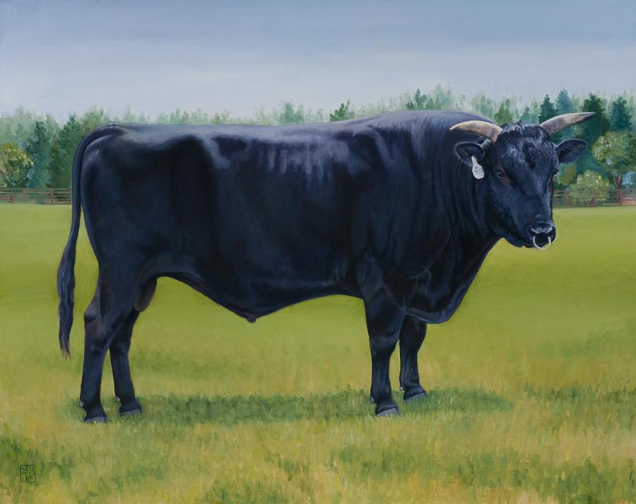 Ralphs Bull Painting