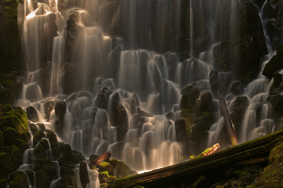 Oregon Photograph - Ramona Falls Or   by Ulrich Burkhalter