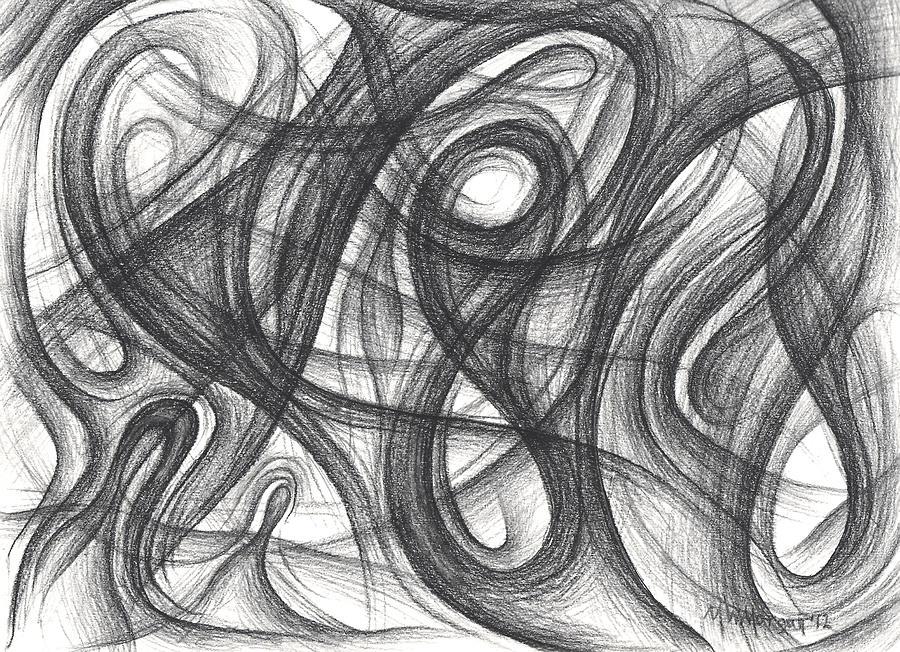 Random Drawing - Random Intentions by Michael Morgan