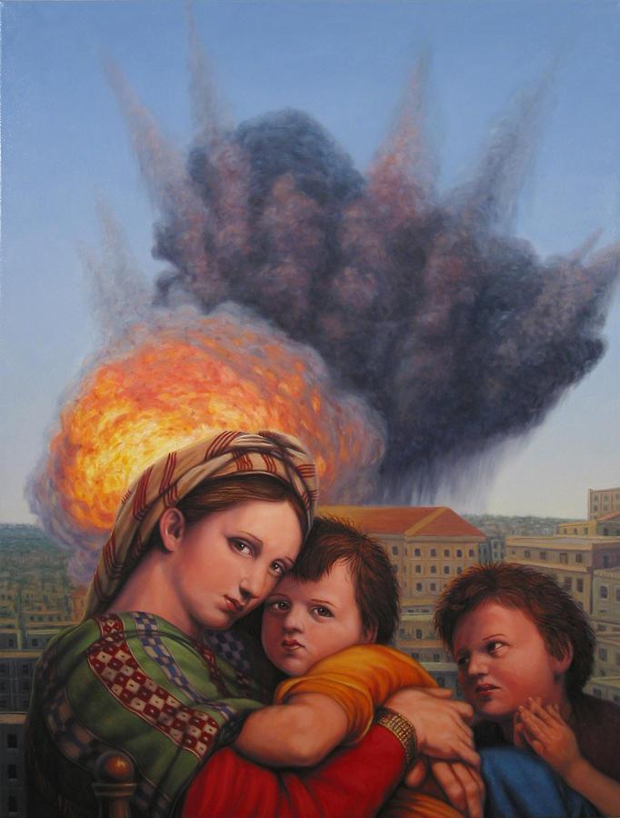 Raphael Moderne Painting