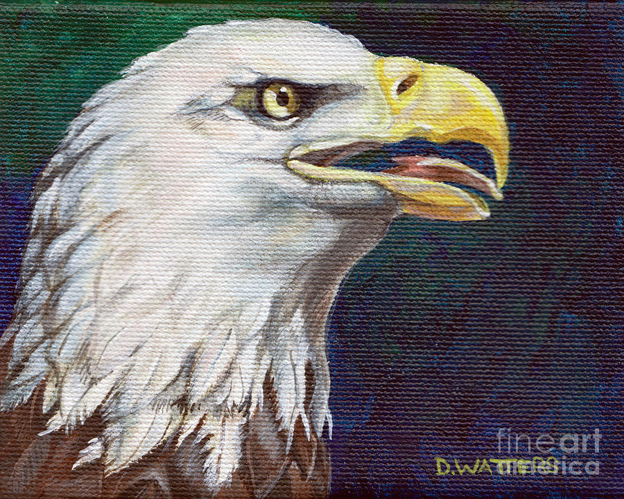 Raptor Attention Painting