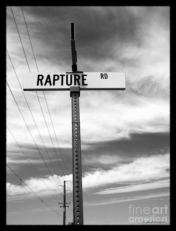 Rapture Road Photograph  - Rapture Road Fine Art Print