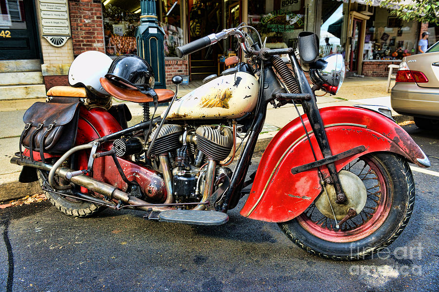 Rare Indian Motorcycle is a photograph by Paul Ward which was uploaded ...