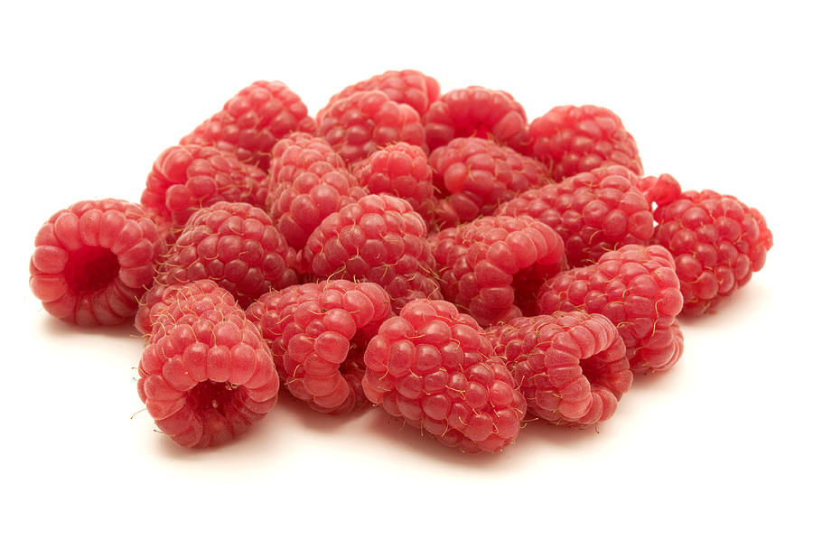 Raspberries Photograph
