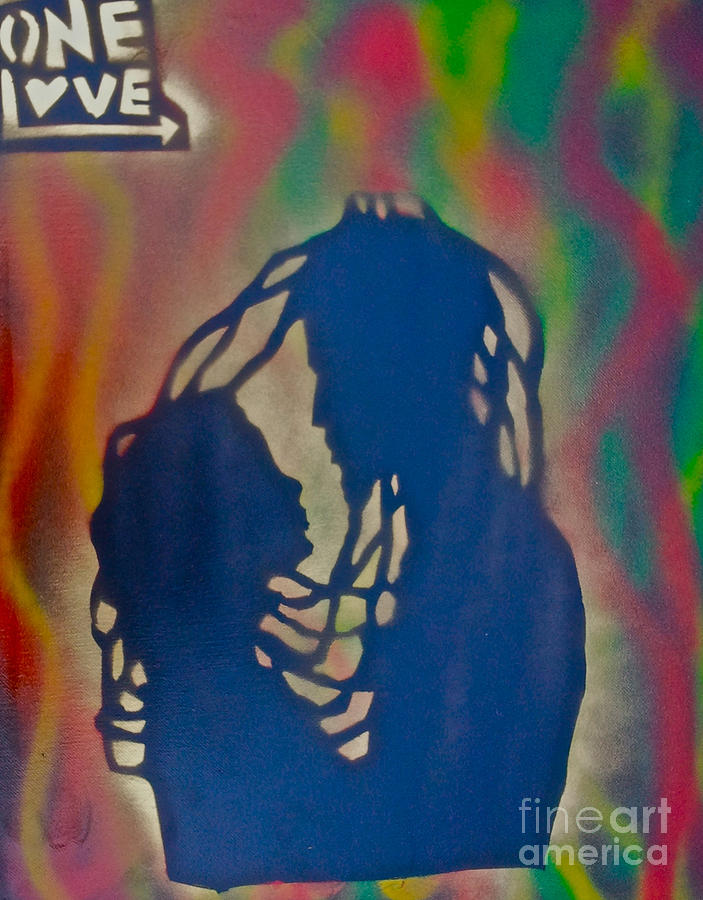Rasta Love Painting  - Rasta Love Fine Art Print