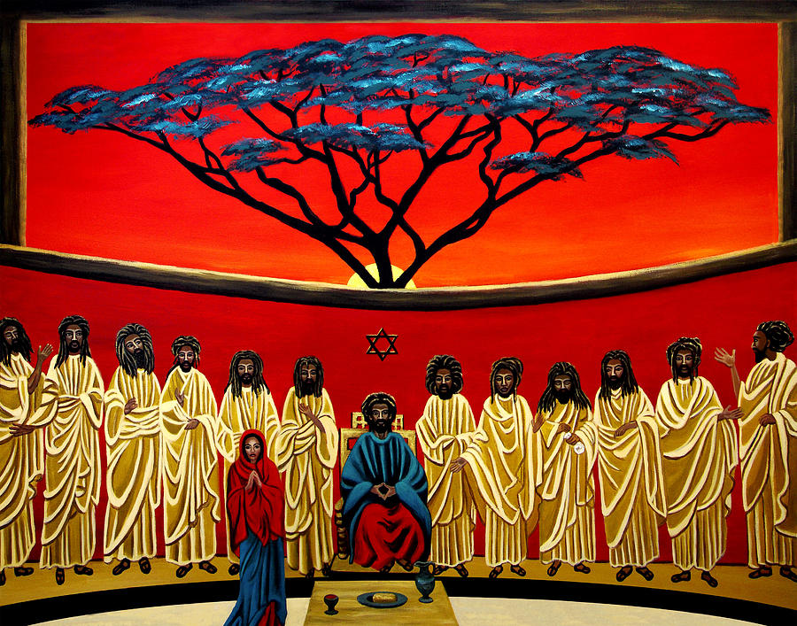 Rastafarian Last Supper Painting
