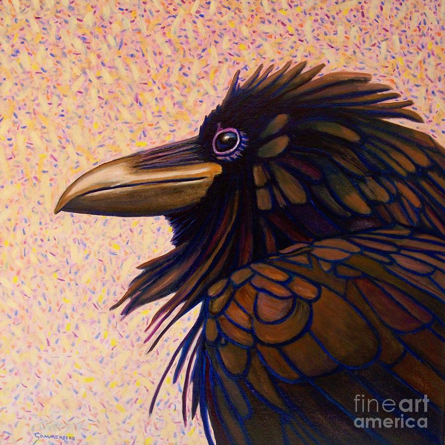 Raven Shaman Painting